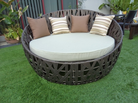 Teak Furniture Malaysia outdoor sofa monaco daybed