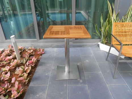 Teak Furniture Malaysia outdoor tables accura square dining table s60