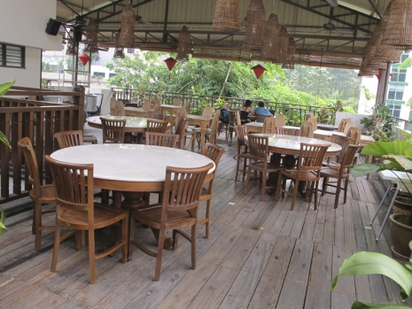 Teak Furniture Malaysia indoor dining tables kopitiam dining table