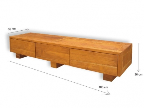 Teak Furniture Malaysia tv consoles madrid tv console