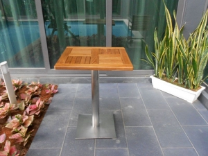 Teak Furniture Malaysia outdoor tables accura square dining table s80