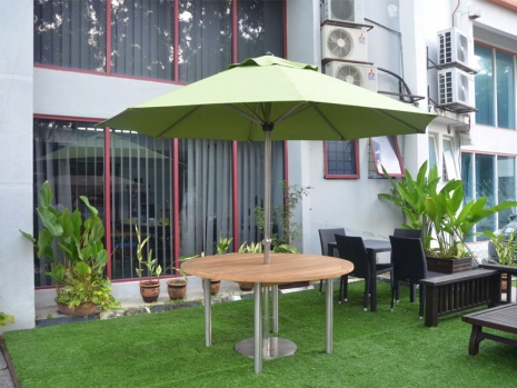 Teak Furniture Malaysia umbrellas accura umbrella