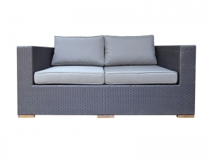 Teak Furniture Malaysia outdoor sofa desaru sofa 2 seater