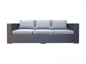 Teak Furniture Malaysia outdoor sofa desaru sofa 3 seater