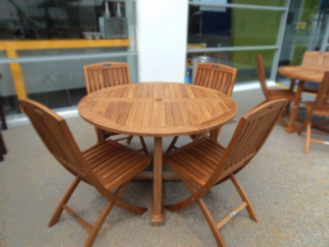 Teak Furniture Malaysia outdoor tables tiara round table