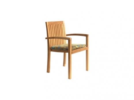 Teak Furniture Malaysia outdoor chairs tiara stacking chair