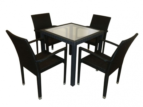 Teak Furniture Malaysia outdoor tables panama glasstop table