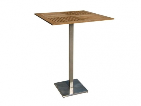 Teak Furniture Malaysia bar tables accura square bar table