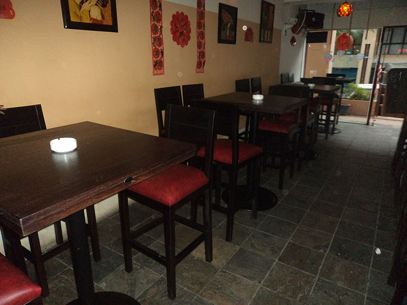 restaurant furniture red onions